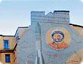 Гагарин граффити